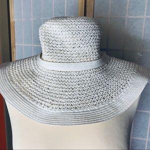 Rafaello Beltini White Sun Hat